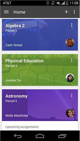 Google Classroom Adds Mobile Editing, Grading -- THE Journal | Using Google Drive in the classroom | Scoop.it