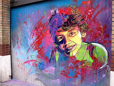 Christian Guémy aka C215 | Street Artist | les Artistes du Web | Scoop.it