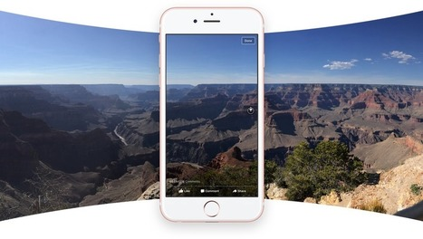Facebook : les photos à 360° sont disponibles - Blog du Modérateur | Webmarketing & TPE-PME | Scoop.it