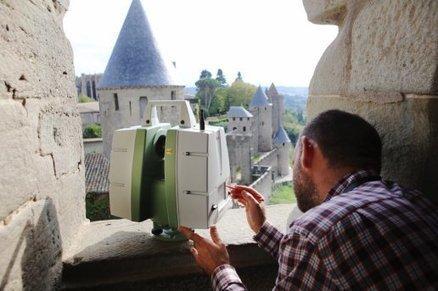 Première à la Cité de Carcassonne : les remparts explorés aux scanner. | Carcassonne | Scoop.it