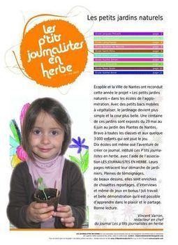 Presse associative pour la jeunesse, création du journal des écoles primaires de Nantes_23X32(2) | Ressources & Documentation | Scoop.it