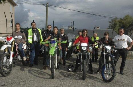 Baraqueville. Les motards en colère mais exemplaires! | Formations auprès des jeunes ERJ et stage moto AFDM | Scoop.it