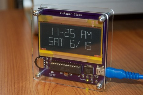 E-Paper Clock | Arduino, PCBs, SMD | Arduino microcontroller | Scoop.it