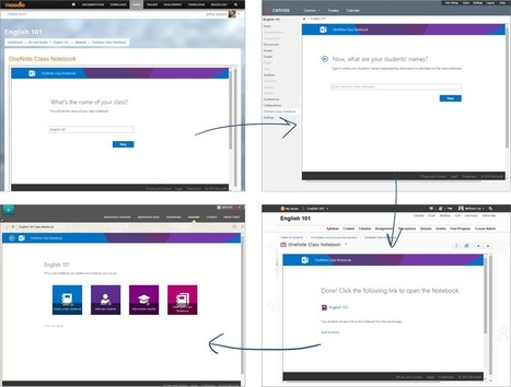 Now available for public preview - OneNote Class Notebook with LMS (including Moodle) integration via LTI | Moodle-iscious! | Scoop.it