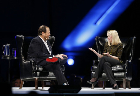 Social News Source: Yahoo's Marissa Mayer interrupted by Walmart protesters at Salesforce.com conference   Best Social Media on the Web   Scoop.it