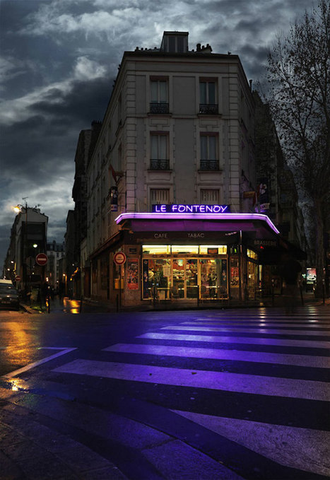 Blaise photographie les petits bistrots isolés de Paris afin qu'ils ne tombent pas dans l'oubli | Jaclen 's photographie | Scoop.it