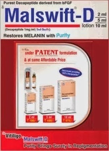 """Indswift: IND-SWIFT PRESESNT MALSWIFT-D – """"RESTORES MELANIN WITH PURITY""""-Part 4 