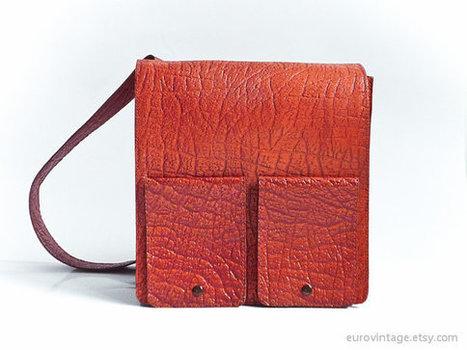 Vintage Messenger Bag | Fashion Trends | Scoop.it