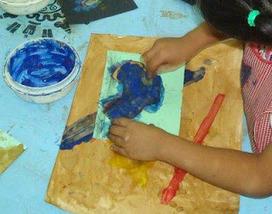 Actividades Preescolar:Dibujos Niños y Tecnicas de Pintura. PREESCOLAR HOY   Plastika teknikak   Scoop.it