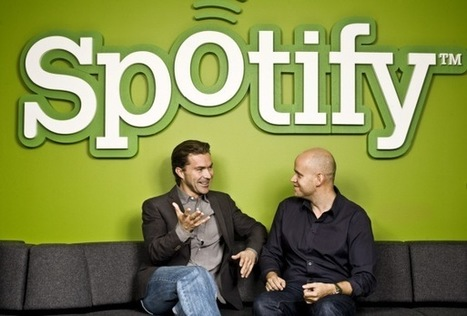 Spotify dips a toe in web waters, but isn't yet swimming | Kill The Record Industry | Scoop.it