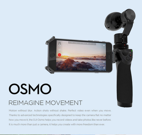 Buy Osmo | DJI Store | Mastering Online Video | Scoop.it