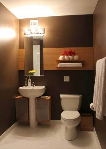 Small Bathroom Decorating Ideas | Small Bathroom Design Pictures | Small Bathroom Storage and Organization Ideas | Home Decorating Ideas | Scoop.it