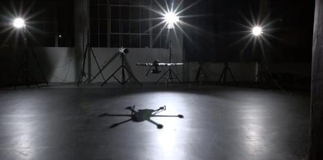 Please enjoy this video of dancing drones   Drone News   Scoop.it