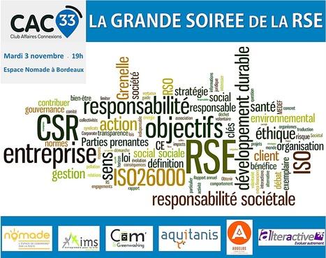 Acte 31 : « La Grande Soirée de la RSE »   Club Affaires Connexions Gironde   Le changement, nouveau levier de performance   Scoop.it