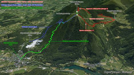 Pyrénées : Internet pour randonner en sécurité | Randonnée et de l'escalade. | Scoop.it