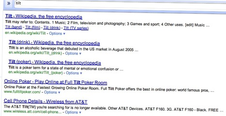 "Search Google For ""Tilt"" Or ""Askew"" On Your Smartphone | Easter Egg | Scoop.it"