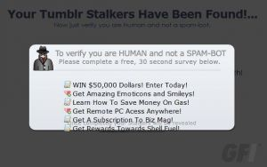ProfileStalkr Tumblr app spams you and your followers | Digital Trends | Djalem Social Media | Scoop.it