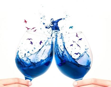 Le Vin Bleu : la drink tendance la plus surprenante de l'été - Les Éclaireuses | Ce qui nous fascine | Scoop.it