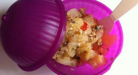 Recette complète - Salade Take Away - Notée 5/5 par les internautes   picnic   Scoop.it