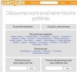 Wattpad. Le réseau social des écrivains - Allweb2 - Les Outils du Web | Lettres-Tice | Scoop.it