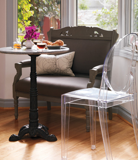 Bistro table - Style At Home | Home Decor | Scoop.it
