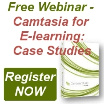 Free Webinar Camtasia Studio 8 for e-Learning Case Studies | Video Creation Tools | Scoop.it