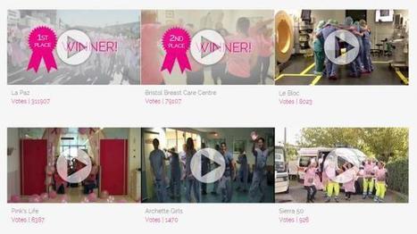 La Paz gana el concurso Pink Glove Dance contra el cáncer de mama | cancer de mama | Scoop.it