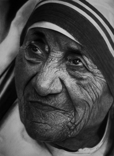 Kelvin Okafor's Photo-Realistic Drawings Are Simply Mind-Blowing | Strange days indeed... | Scoop.it