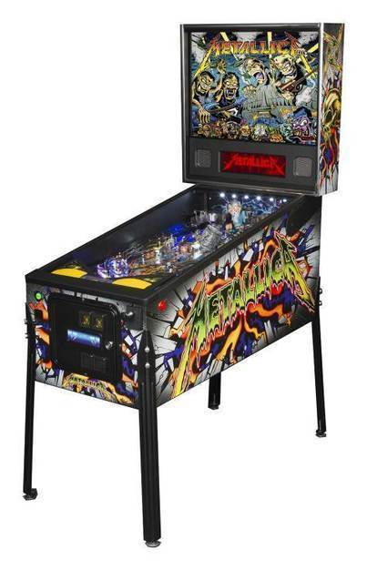 STERN PINBALL's METALLICA Game Success Leads To Second Premium ... - BLABBERMOUTH.NET | Old Heavy Metal | Scoop.it