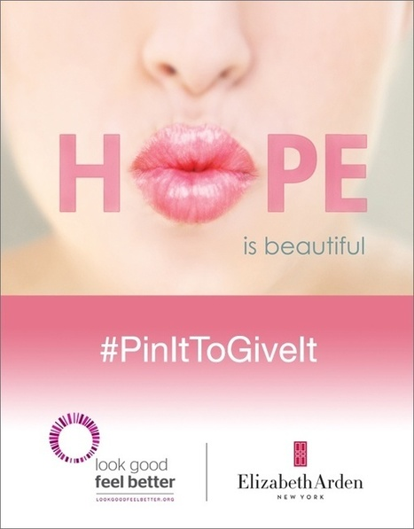 """Elizabeth Arden Brings Back Successful """"Pin It To Give It"""" Campaign 