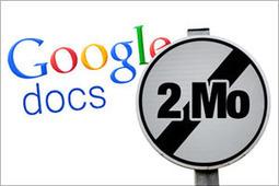 Dépassez la limite des 2 Mo dans Google Docs | François MAGNAN  Formateur Consultant | Scoop.it