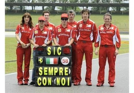 Η Ferrari τιμά τον Simoncelli | MotoGP World | Scoop.it