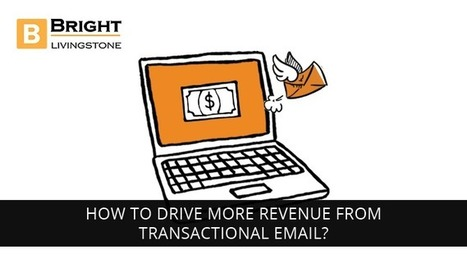 How to drive more revenue from transactional email? - BrightLivingstone.com   Brightlivingstone.com   Scoop.it