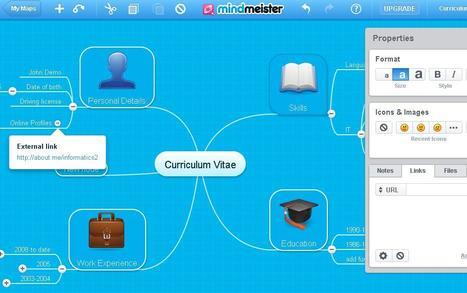 MindMeister   TEFL & Ed Tech   Scoop.it