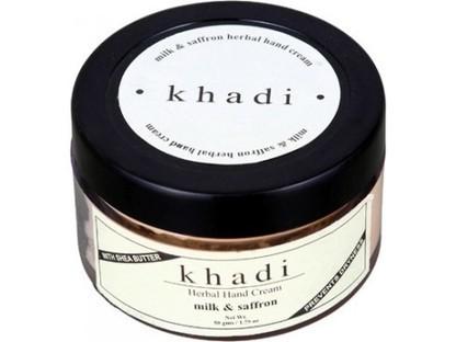 Buy Khadi Milk and Saffron Hand Cream Online | Khadi Products | Scoop.it