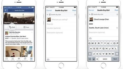 Facebook: Kleinanzeigen-Funktion vorgestellt | Social Media | Social Media and its influence | Scoop.it