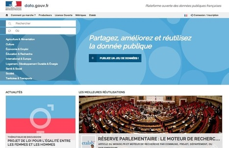"""Share, improve and reuse public sector data"" – French Government ... 