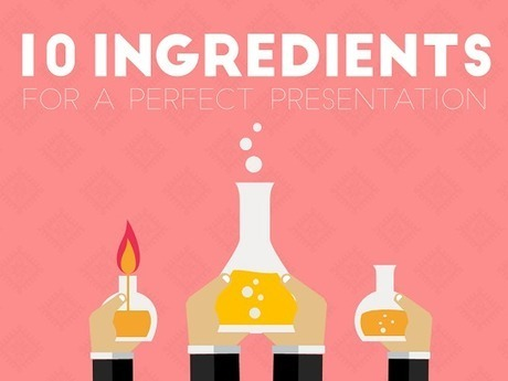 10 Ingredients For A Perfect Presentation | Digital Presentations in Education | Scoop.it