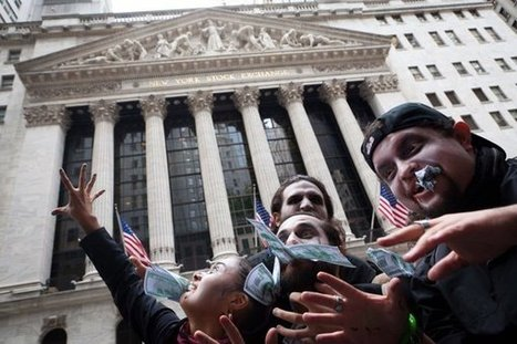 Protests against Wall Street spread across US | civil disobedience | Scoop.it