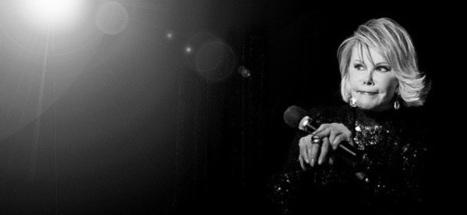 Honoring Joan Rivers: 12 of the Trailblazing Comedian's Wisest Quotes | Personal and Professional Life Diary | Scoop.it
