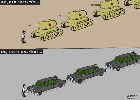 1989, Place Tiananmen, et 2011, Occupy Wall Street | Epic pics | Scoop.it