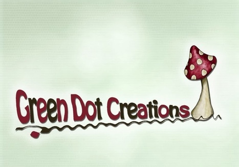 Green Dot Creations: New logos and a fairy garden house! | Needle felting art by Green Dot Creations' Studio! | Scoop.it
