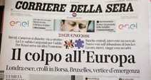 Italie: Le «Corriere della Sera» change de mains | DocPresseESJ | Scoop.it