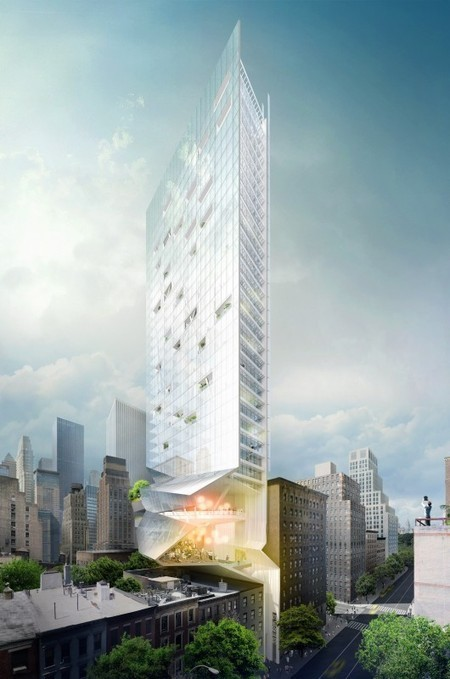 Proposal for New York Skyscraper Cantilevers Lobby Over Its Neighbors   The Architecture of the City   Scoop.it