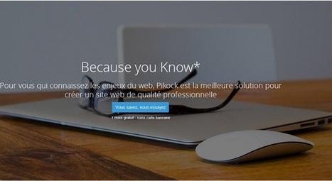 Pikock : créer votre site web en toute autonomie | Tourisme | Scoop.it