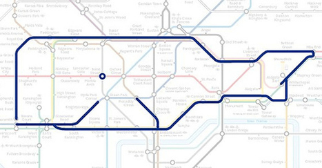 22 Animals Who've Been Hiding Out In The London Underground Map | Datavisualization | Scoop.it
