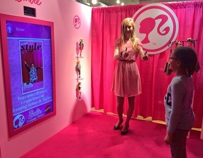 Barbie et son dressing virtuel aux Galeries Lafayette | La Minute Retail | Les innovations retail | Scoop.it