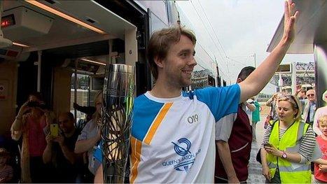 Baton relay arrives in Scotland   Commonwealth Games 2014   Scoop.it