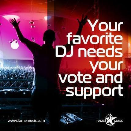 Your favorite DJ needs your vote & support - Fame Music - UAE | Online Music Contests, Events, Videos, DJ, Charts & More | Scoop.it
