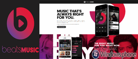 Beats Music is Ready to Make Its Place on Windows Phone devices, After Android and iOS   Windows Mobile App Mart - Windows Mobile Phone News   Scoop.it